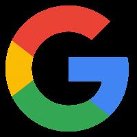 Weergave van het Google logo
